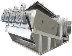 Multi Plate Screw Press Dewatering System