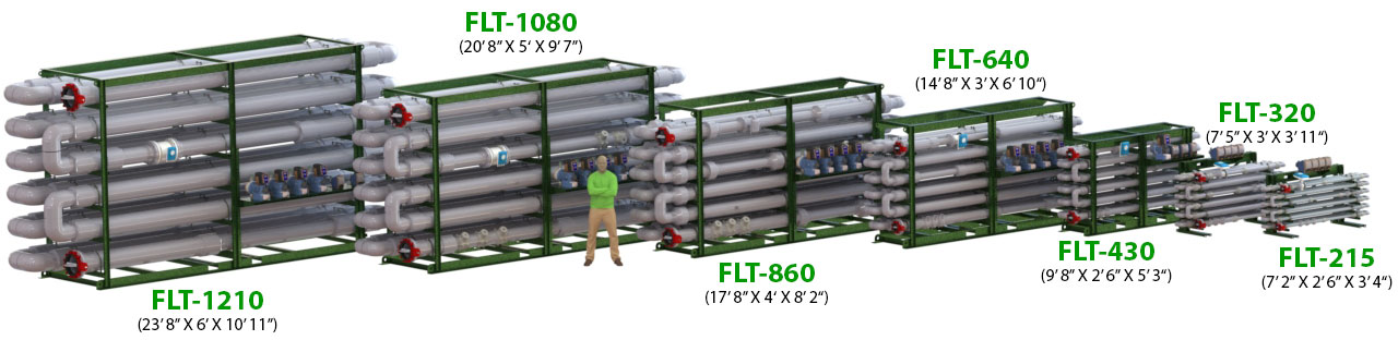 Ecologix Floc Tubes Triple Pass Family