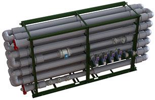 Ecologix Floc Tubes flt-1080 Triple Pass System