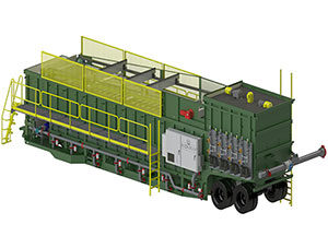 ITS 1500 Mobile Frac Water Treatment