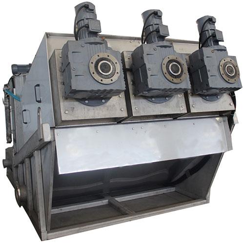 Multi Plate Screw Press Sludge Dewatering System - Model ST-403