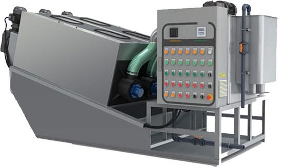 MPSP Screw Press - Model ST-403 Illustration