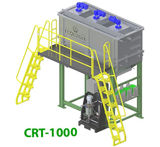 Chemical Reaction Tank 1000 Gal Capacity