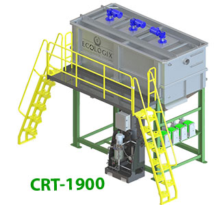 Chemical Reaction Tank 1900 Gal Capacity