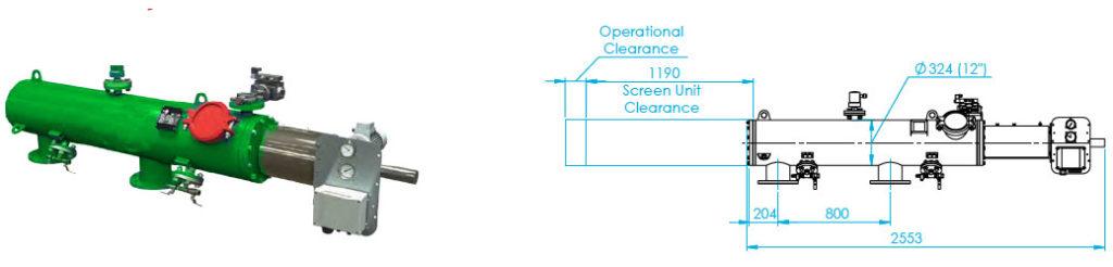FS-050 Automaic Screen Filter