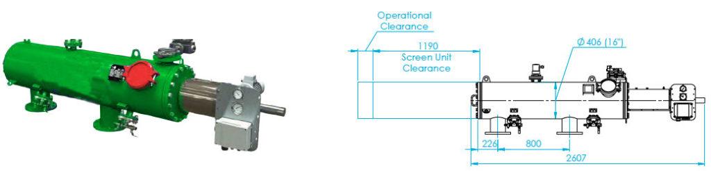 FS-070 Automaic Screen Filter