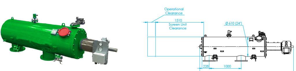 FS-150 Automaic Screen Filter