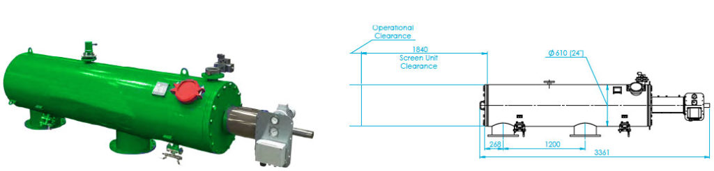FS-200 Automaic Screen Filter