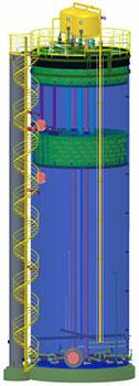 Anaerobic IR Reactor